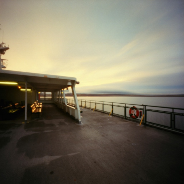 Camera: Zero Image 2000 PinholeFilm: Kodak Ektar 100Location: Ferry Boat - Puget Sound, Washington Sate