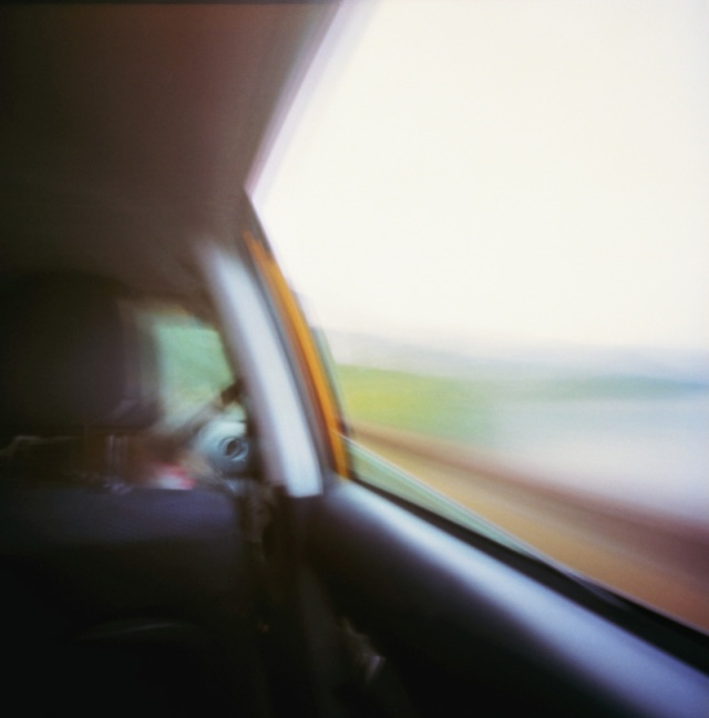 Camera: Zero Image 2000 PinholeFilm: Kodak Ektar 100Location: Driving along Lake Crescent on the US-101 - Washington State