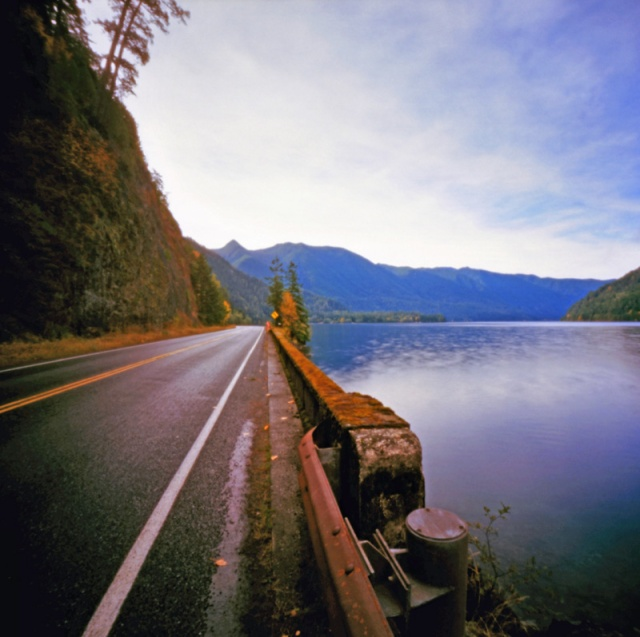 Camera: Zero Image 2000 PinholeFilm: Kodak Ektar 100Location: Lake Crescent, Washington State