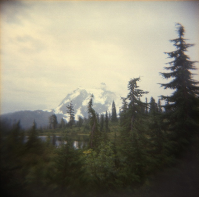 Camera: Holga 120NFilm: Kodak Portra 400Location: Reflection Lake - Mount Baker, Washington State